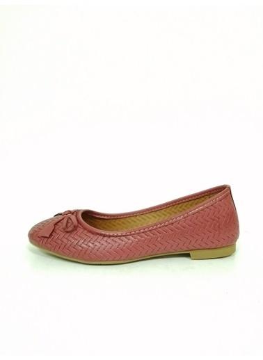 Ballerins Ayakkabı Bordo